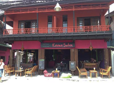 photo 10 English mansion for rent in Koh Samui thailand French bar and restaurant Thai Karma Sutra  400